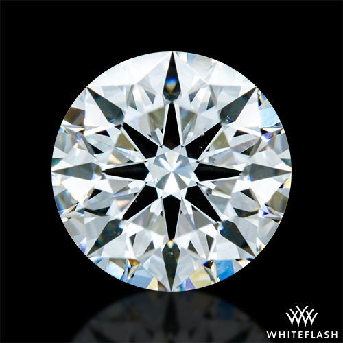 0.915 ct D VS2 A CUT ABOVE® Hearts and Arrows Super Ideal Round Cut Loose Diamond