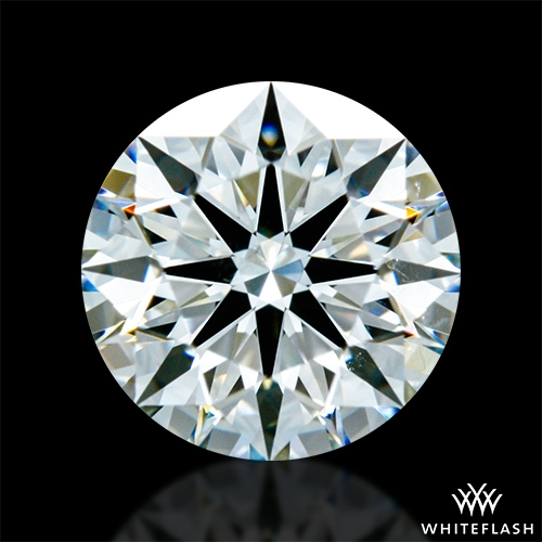 0.825 ct I SI1 A CUT ABOVE® Hearts and Arrows Super Ideal Round Cut Loose Diamond