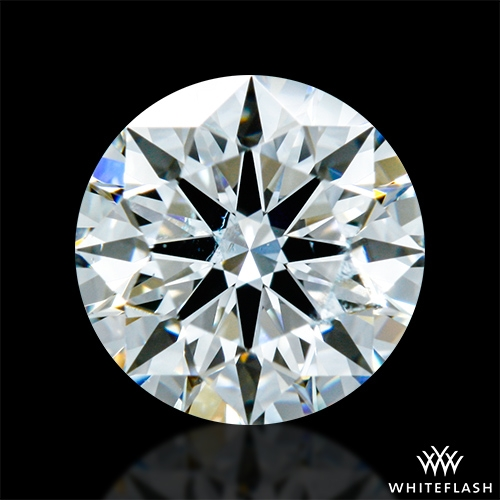 0.786 ct G VS2 A CUT ABOVE® Hearts and Arrows Super Ideal Round Cut Loose Diamond