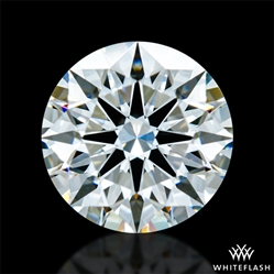 0.726 ct G VS1 A CUT ABOVE® Hearts and Arrows Super Ideal Round Cut Loose Diamond