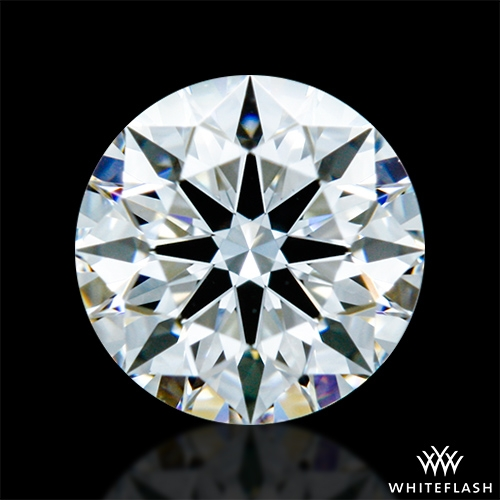 0.413 ct D VVS1 A CUT ABOVE® Hearts and Arrows Super Ideal Round Cut Loose Diamond