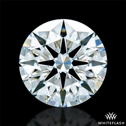 1.208 ct F VS1 A CUT ABOVE® Hearts and Arrows Super Ideal Round Cut Loose Diamond