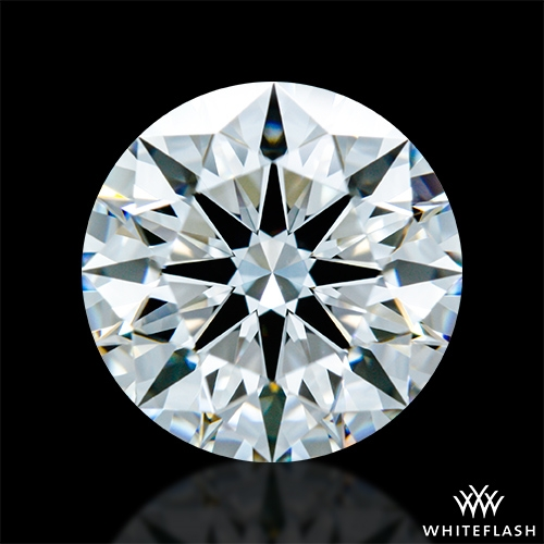 1.51 ct F VVS2 A CUT ABOVE® Hearts and Arrows Super Ideal Round Cut Loose Diamond