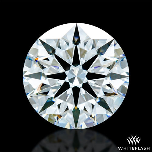 1.495 ct E VVS2 A CUT ABOVE® Hearts and Arrows Super Ideal Round Cut Loose Diamond