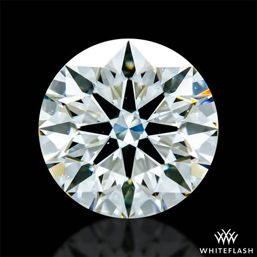 1.29 ct J VS2 A CUT ABOVE® Hearts and Arrows Super Ideal Round Cut Loose Diamond