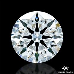 1.321 ct D VVS1 A CUT ABOVE® Hearts and Arrows Super Ideal Round Cut Loose Diamond