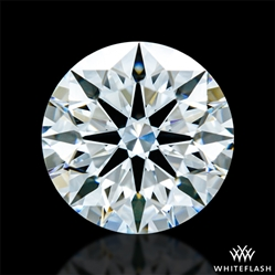 1.403 ct F VS1 A CUT ABOVE® Hearts and Arrows Super Ideal Round Cut Loose Diamond