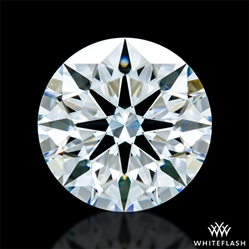 1.373 ct E VS1 A CUT ABOVE® Hearts and Arrows Super Ideal Round Cut Loose Diamond