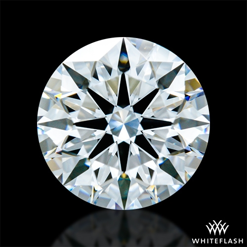 1.357 ct E VVS2 A CUT ABOVE® Hearts and Arrows Super Ideal Round Cut Loose Diamond
