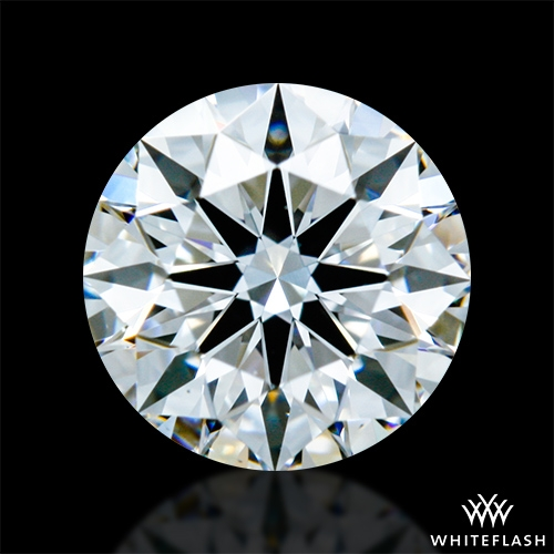0.626 ct D VS1 A CUT ABOVE® Hearts and Arrows Super Ideal Round Cut Loose Diamond