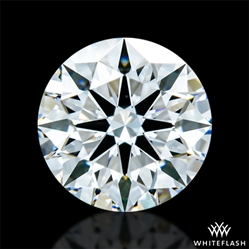 0.603 ct E VVS2 A CUT ABOVE® Hearts and Arrows Super Ideal Round Cut Loose Diamond