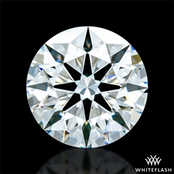 0.707 ct F VVS1 A CUT ABOVE® Hearts and Arrows Super Ideal Round Cut Loose Diamond