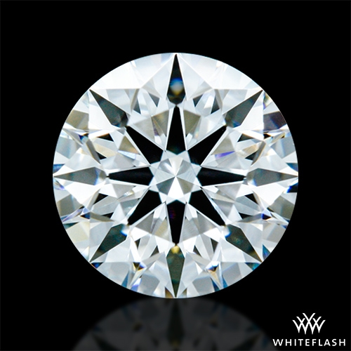 0.703 ct F VS1 A CUT ABOVE® Hearts and Arrows Super Ideal Round Cut Loose Diamond