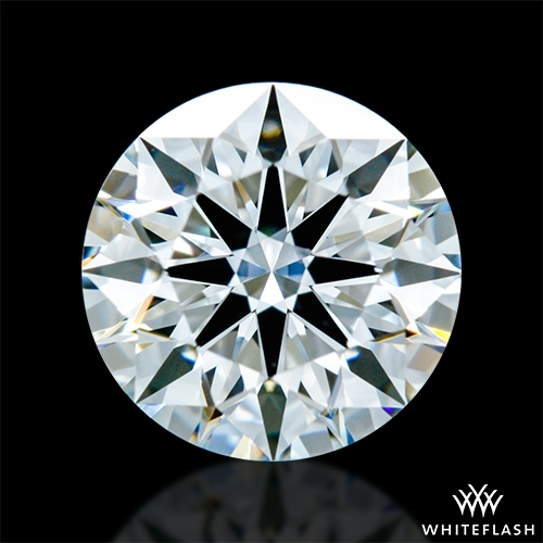 0.804 ct F VS1 A CUT ABOVE® Hearts and Arrows Super Ideal Round Cut Loose Diamond