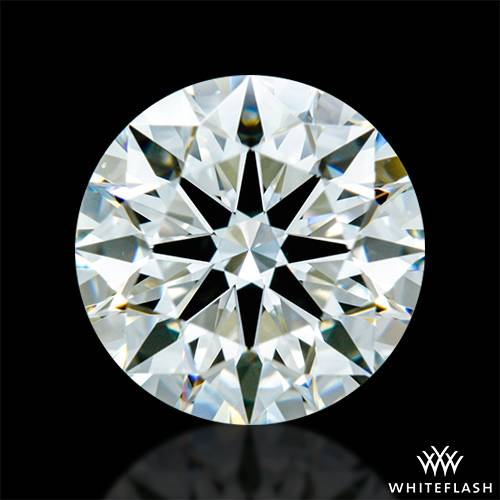0.842 ct J VS1 A CUT ABOVE® Hearts and Arrows Super Ideal Round Cut Loose Diamond