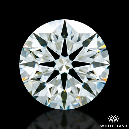 0.841 ct K VS1 A CUT ABOVE® Hearts and Arrows Super Ideal Round Cut Loose Diamond