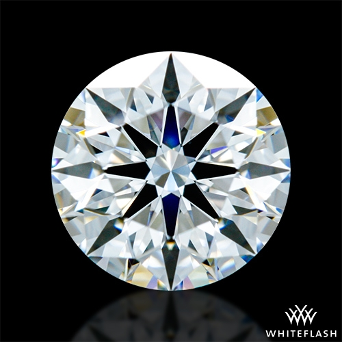 0.933 ct F VVS2 A CUT ABOVE® Hearts and Arrows Super Ideal Round Cut Loose Diamond