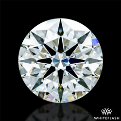 0.911 ct H VS2 A CUT ABOVE® Hearts and Arrows Super Ideal Round Cut Loose Diamond