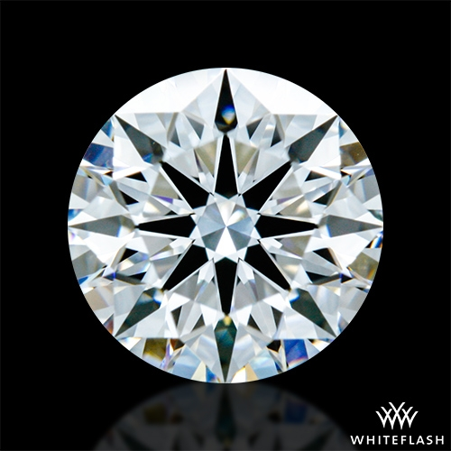 0.811 ct E VVS2 A CUT ABOVE® Hearts and Arrows Super Ideal Round Cut Loose Diamond