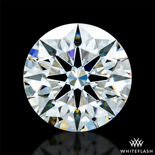 0.813 ct F VVS1 A CUT ABOVE® Hearts and Arrows Super Ideal Round Cut Loose Diamond