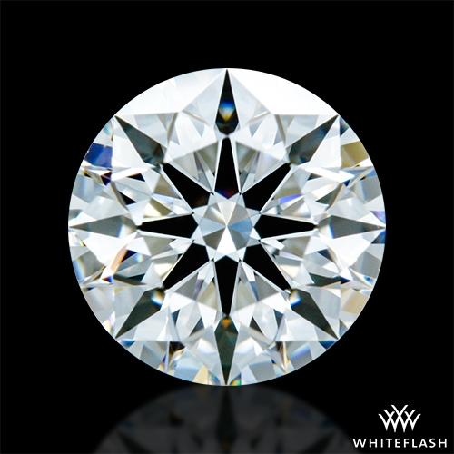 0.828 ct F VVS2 A CUT ABOVE® Hearts and Arrows Super Ideal Round Cut Loose Diamond