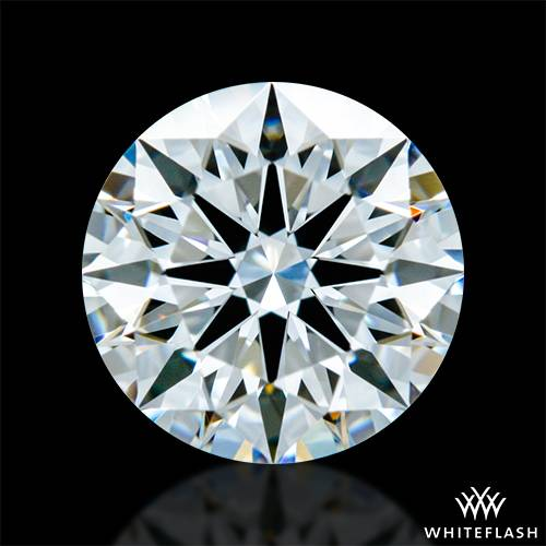 0.748 ct F VVS1 A CUT ABOVE® Hearts and Arrows Super Ideal Round Cut Loose Diamond