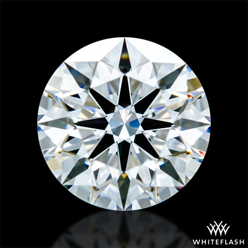 0.604 ct D VVS2 A CUT ABOVE® Hearts and Arrows Super Ideal Round Cut Loose Diamond