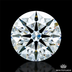 0.604 ct D VVS2 A CUT ABOVE® Hearts and Arrows Super Ideal Round Cut Loose Diamond
