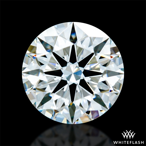 0.635 ct E VVS2 A CUT ABOVE® Hearts and Arrows Super Ideal Round Cut Loose Diamond