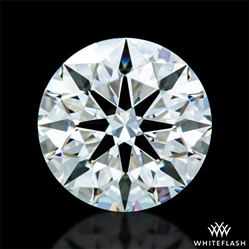 0.66 ct F VVS2 A CUT ABOVE® Hearts and Arrows Super Ideal Round Cut Loose Diamond