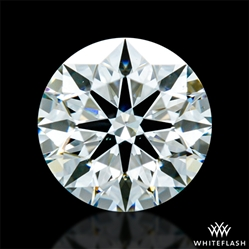 0.705 ct H SI1 A CUT ABOVE® Hearts and Arrows Super Ideal Round Cut Loose Diamond