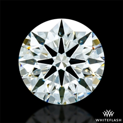 0.712 ct J VS2 A CUT ABOVE® Hearts and Arrows Super Ideal Round Cut Loose Diamond