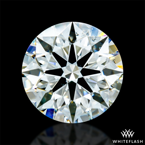 0.711 ct I SI1 A CUT ABOVE® Hearts and Arrows Super Ideal Round Cut Loose Diamond