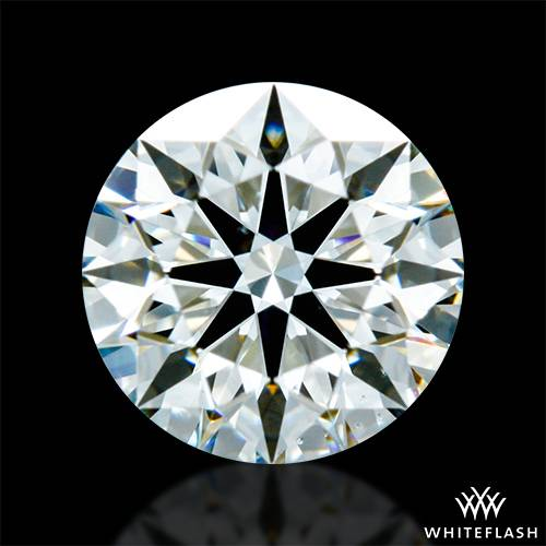 0.602 ct I VS2 A CUT ABOVE® Hearts and Arrows Super Ideal Round Cut Loose Diamond