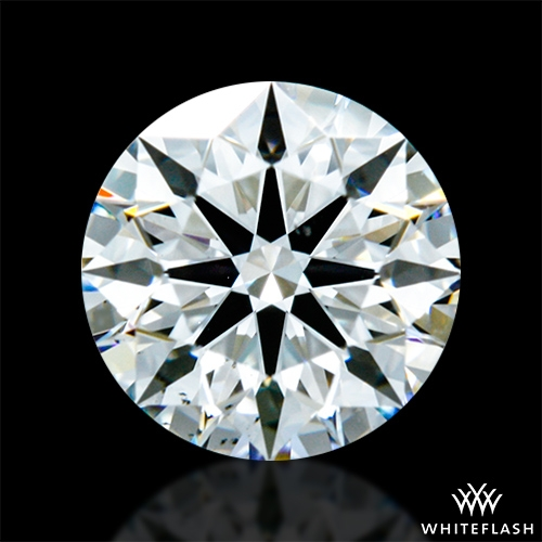 0.603 ct I VS2 A CUT ABOVE® Hearts and Arrows Super Ideal Round Cut Loose Diamond