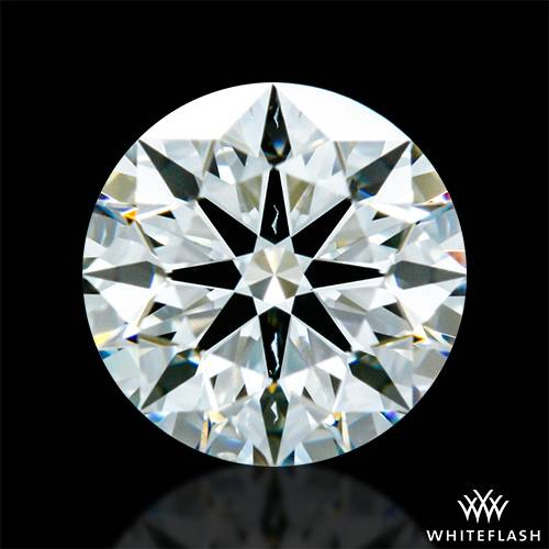 0.60 ct I SI1 A CUT ABOVE® Hearts and Arrows Super Ideal Round Cut Loose Diamond