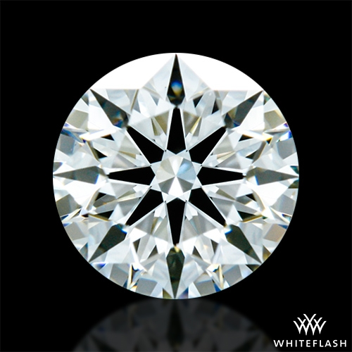 0.624 ct I VS1 A CUT ABOVE® Hearts and Arrows Super Ideal Round Cut Loose Diamond