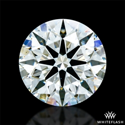 0.604 ct G VS2 A CUT ABOVE® Hearts and Arrows Super Ideal Round Cut Loose Diamond