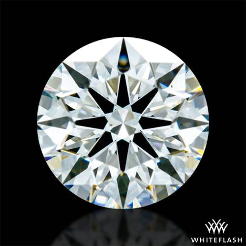 0.736 ct G VS2 A CUT ABOVE® Hearts and Arrows Super Ideal Round Cut Loose Diamond