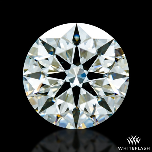 1.191 ct J VS2 A CUT ABOVE® Hearts and Arrows Super Ideal Round Cut Loose Diamond
