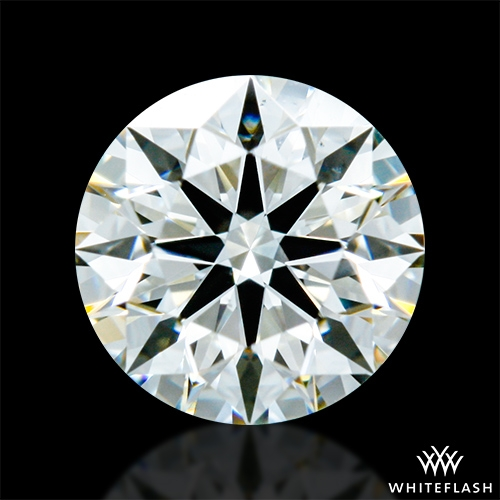 0.602 ct J VS2 A CUT ABOVE® Hearts and Arrows Super Ideal Round Cut Loose Diamond