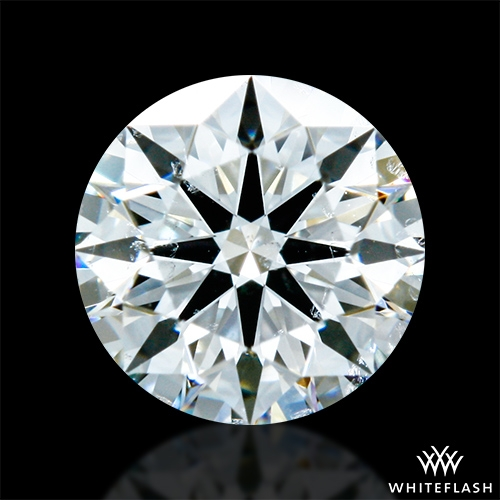 0.438 ct H SI1 A CUT ABOVE® Hearts and Arrows Super Ideal Round Cut Loose Diamond