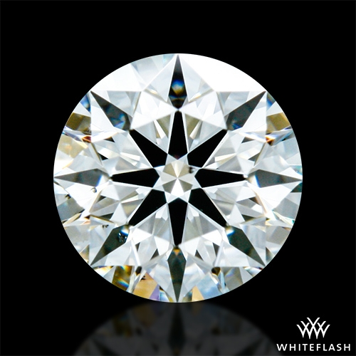 0.43 ct H VS2 A CUT ABOVE® Hearts and Arrows Super Ideal Round Cut Loose Diamond