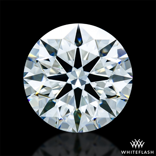 2.897 ct H VS2 A CUT ABOVE® Hearts and Arrows Super Ideal Round Cut Loose Diamond