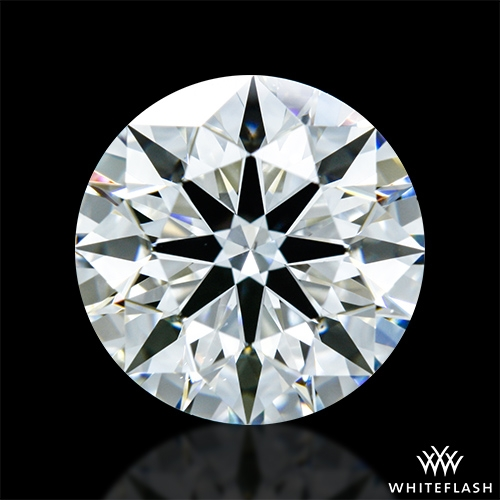 1.316 ct G VS2 A CUT ABOVE® Hearts and Arrows Super Ideal Round Cut Loose Diamond