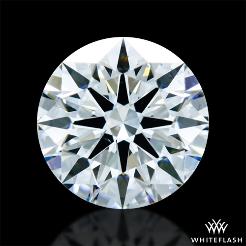 1.058 ct G VS2 A CUT ABOVE® Hearts and Arrows Super Ideal Round Cut Loose Diamond