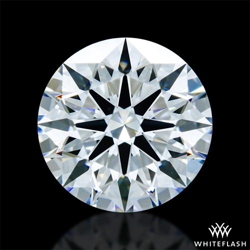 1.062 ct H VS2 A CUT ABOVE® Hearts and Arrows Super Ideal Round Cut Loose Diamond