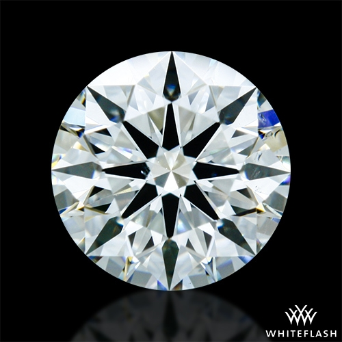 0.987 ct K VS2 A CUT ABOVE® Hearts and Arrows Super Ideal Round Cut Loose Diamond