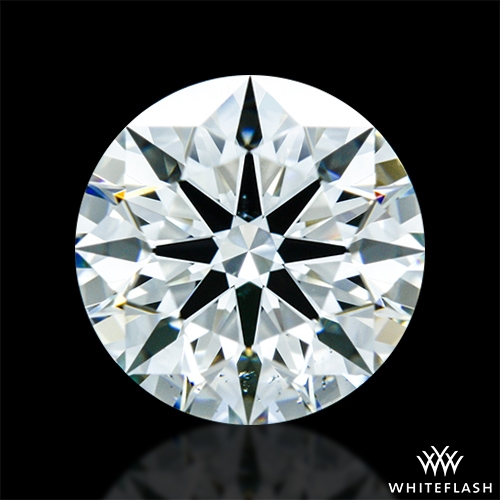 0.867 ct J VS2 A CUT ABOVE® Hearts and Arrows Super Ideal Round Cut Loose Diamond
