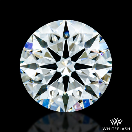 0.775 ct F VS1 A CUT ABOVE® Hearts and Arrows Super Ideal Round Cut Loose Diamond